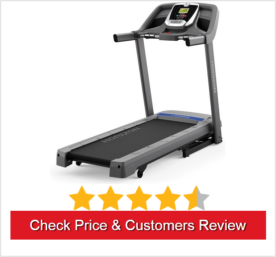 Horizon Fitness T101 Is An Amazing Entry Level Treadmill Primarily For Home Use And Built To Impress With Its Commercial Construction