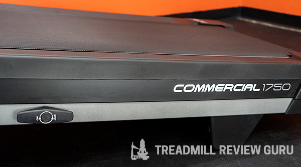 NordicTrack Commercial 1750 Running Belt