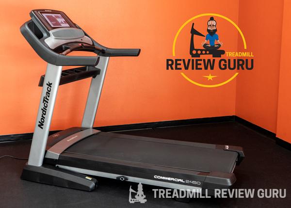 NordicTrack 2450 Treadmill - Best Treadmill for Runners 2020 Award