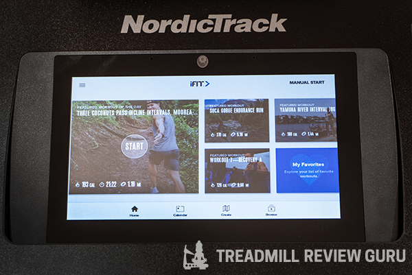 NordicTrack SE9i Elliptical Console iFit Subscription