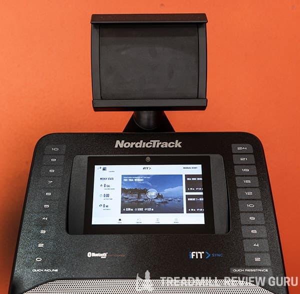 NordicTrack Freestride Trainer FS7i Tablet Holder