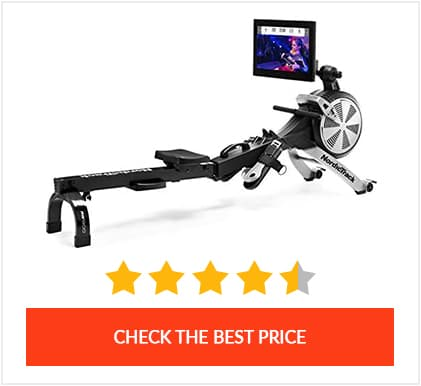 Most Affordable High Tech Rower: Nordictrack RW900 Rower