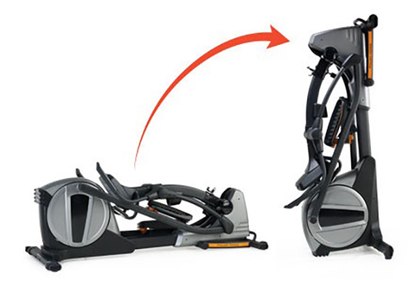 NordicTrack SE9i Elliptical Folded Frame