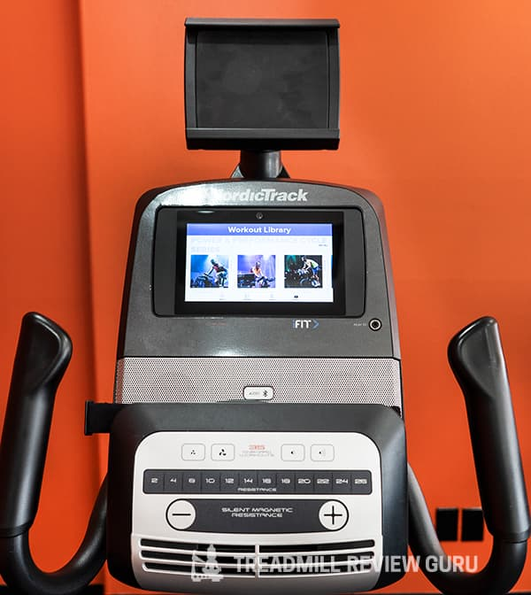 NordicTrack VR25 Recumbent Bike Tablet Holder