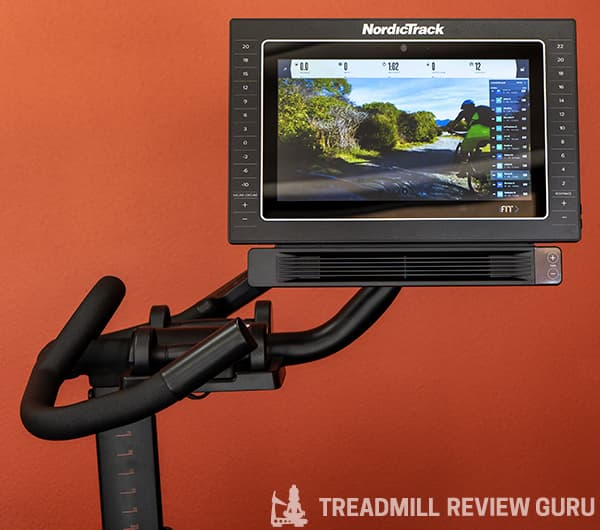 NordicTrack s15 screen swivel