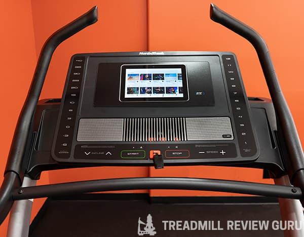 NordicTrack X11i Treadmill Console
