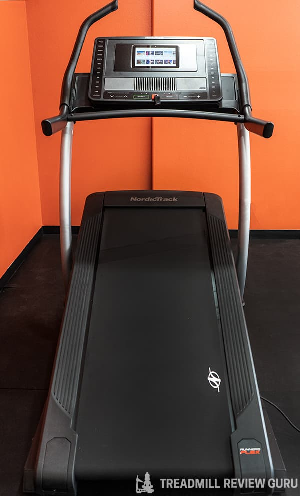 NordicTrack X11i Treadmill Manual Sled Push