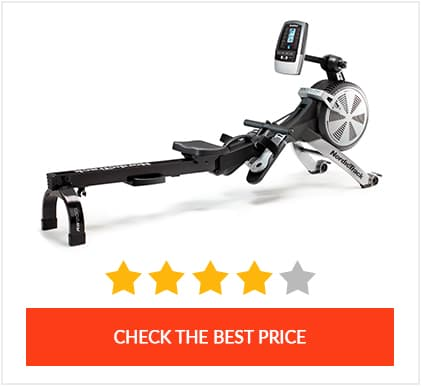 Best Hybrid (Air+Magnetic) Rower: Nordictrack RW500
