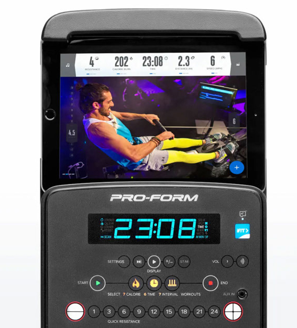 ProForm 750R Rower Tablet Holder