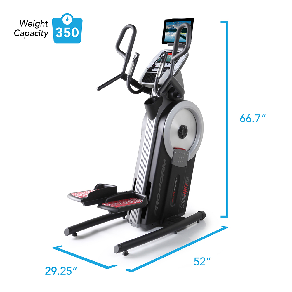 ProForm HIIT Trainer Pro Construction