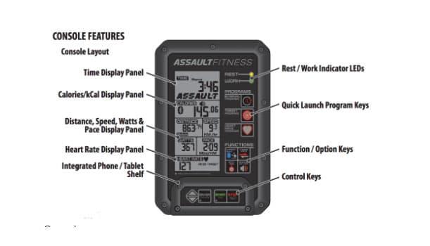 Assault Fitness AirRunner Control