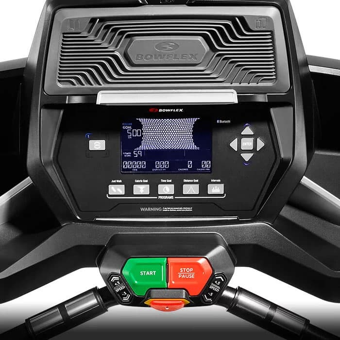 Bowflex Treadclimber TC200 console