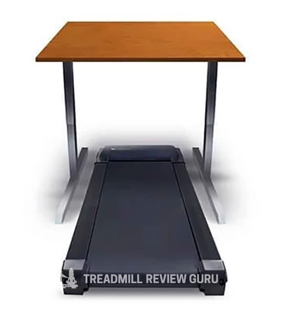 LIfeSpan TR1200 standing desk over console