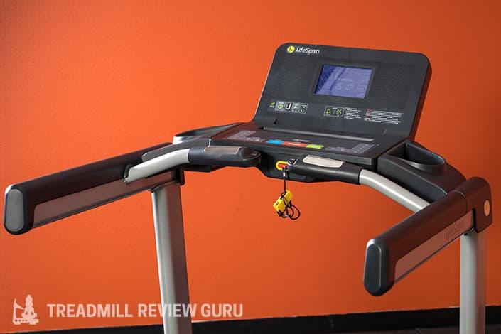 LifeSpan TR2000e Treadmill Cockpit