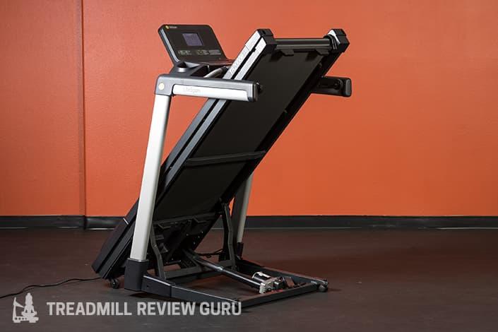 LifeSpan TR2000e Electric Treadmill Review Folded