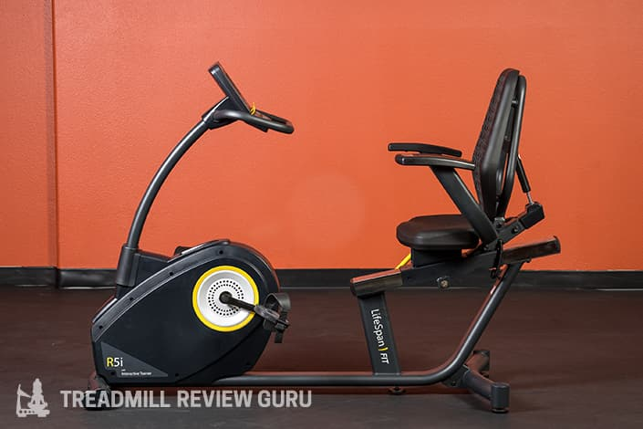 Lifespan R5i Recumbent Bike Construction