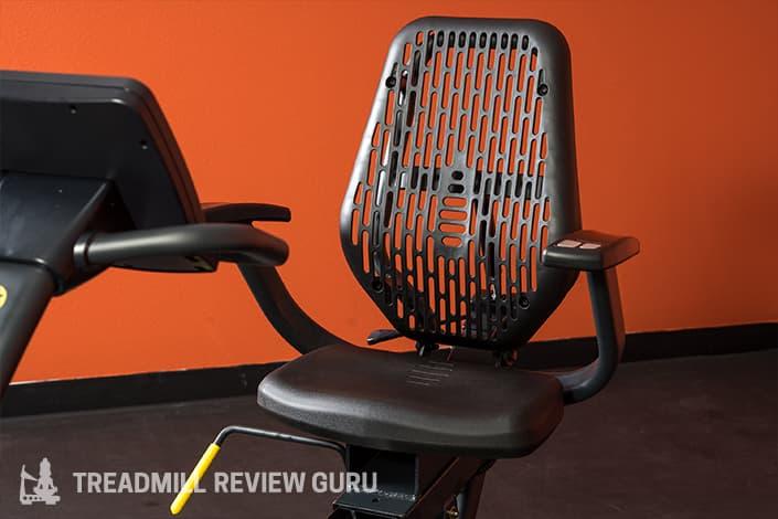 LifeSpan R5i Recumbent seat