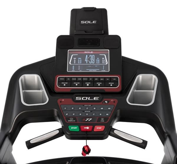 Sole S77 Console Layout