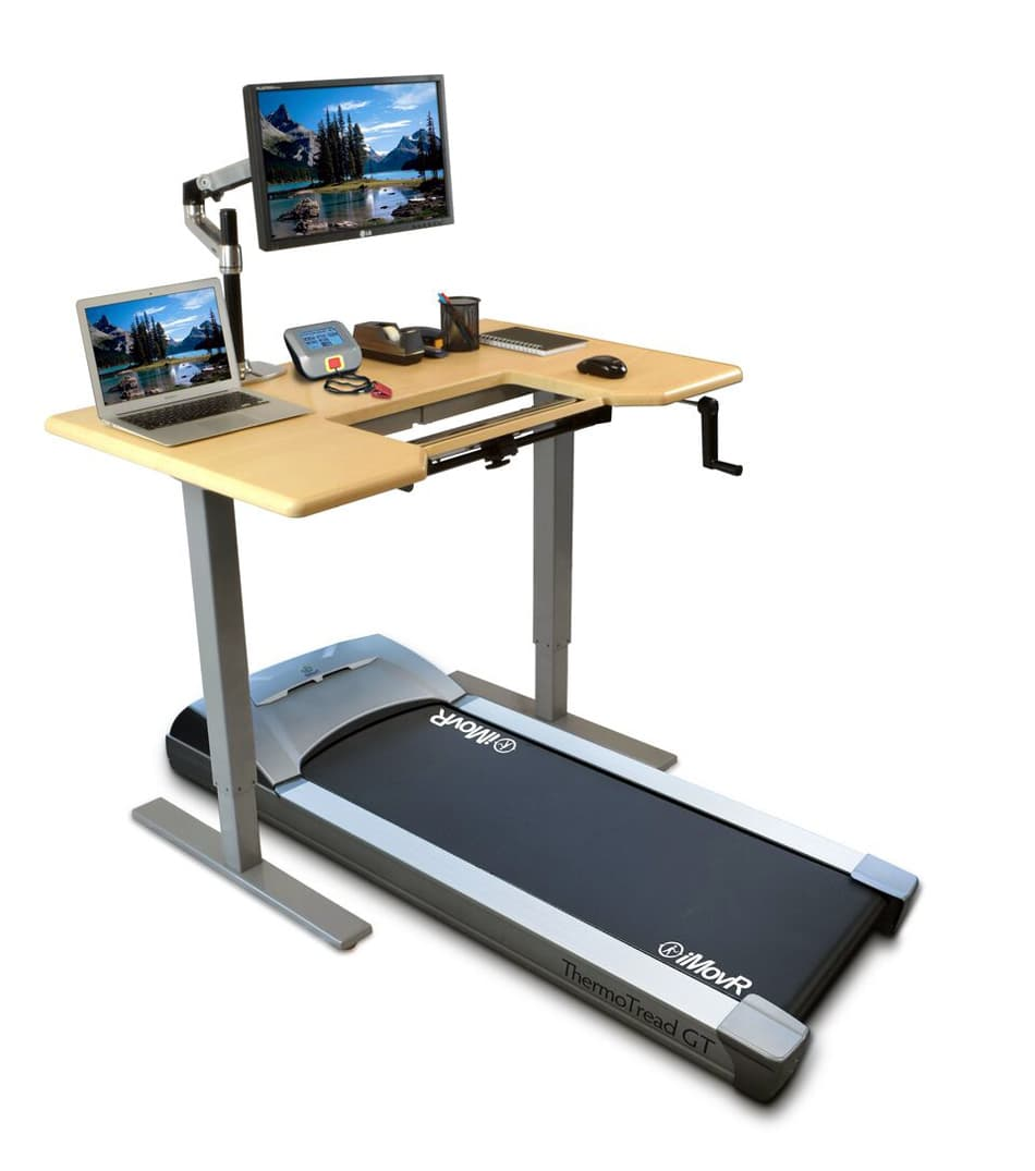 iMovR ThermoTread GT with desk