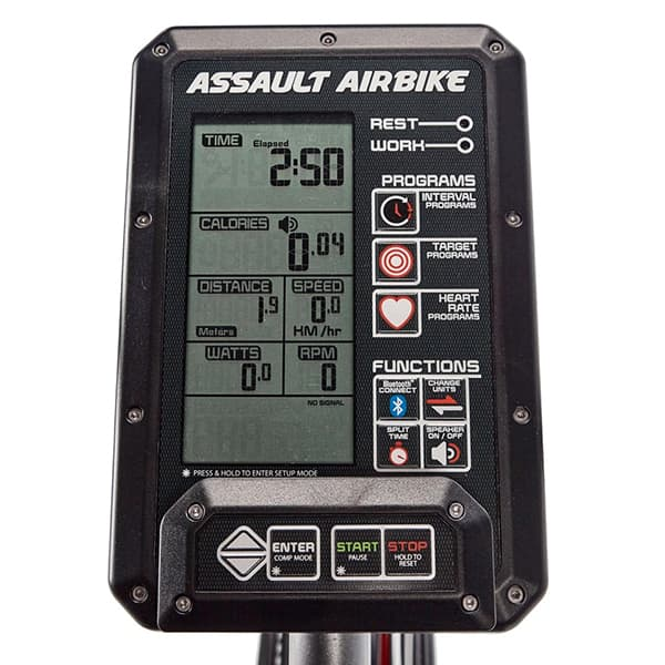 Assault AirBike Elite console