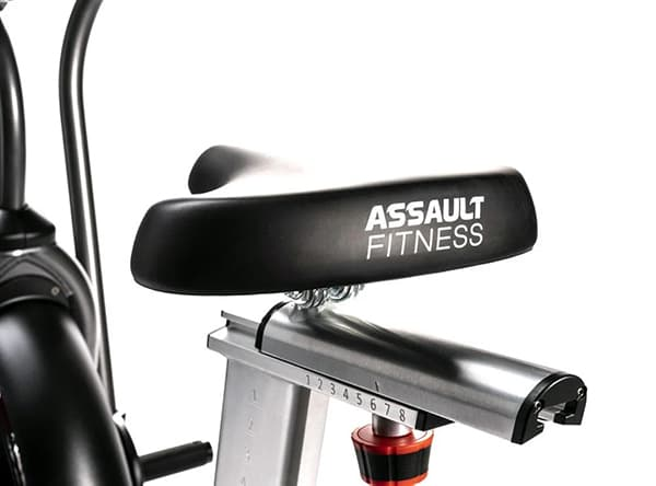 Assault AirBike Elite leather seat