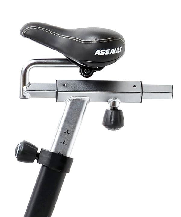 Assault AirBike seat adjustment frame