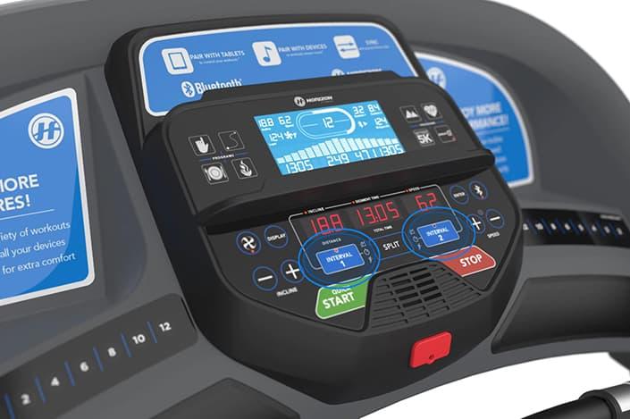 Horizon T303 Treadmill Console