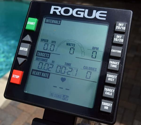Rogue Echo Airbike console