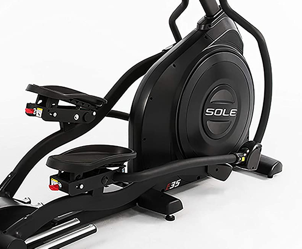 Sole E35 Elliptical pedals and flywheel