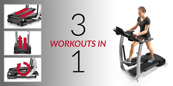 Treadclimber TC100 workout