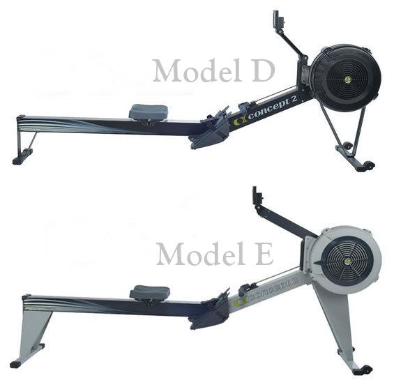 Concept2 Model E Frame Comparison