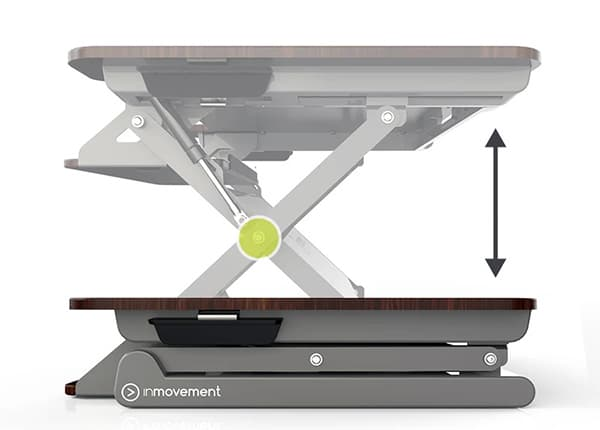 InMovement DT20 desk riser
