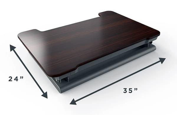 InMovement DT20 desk surface