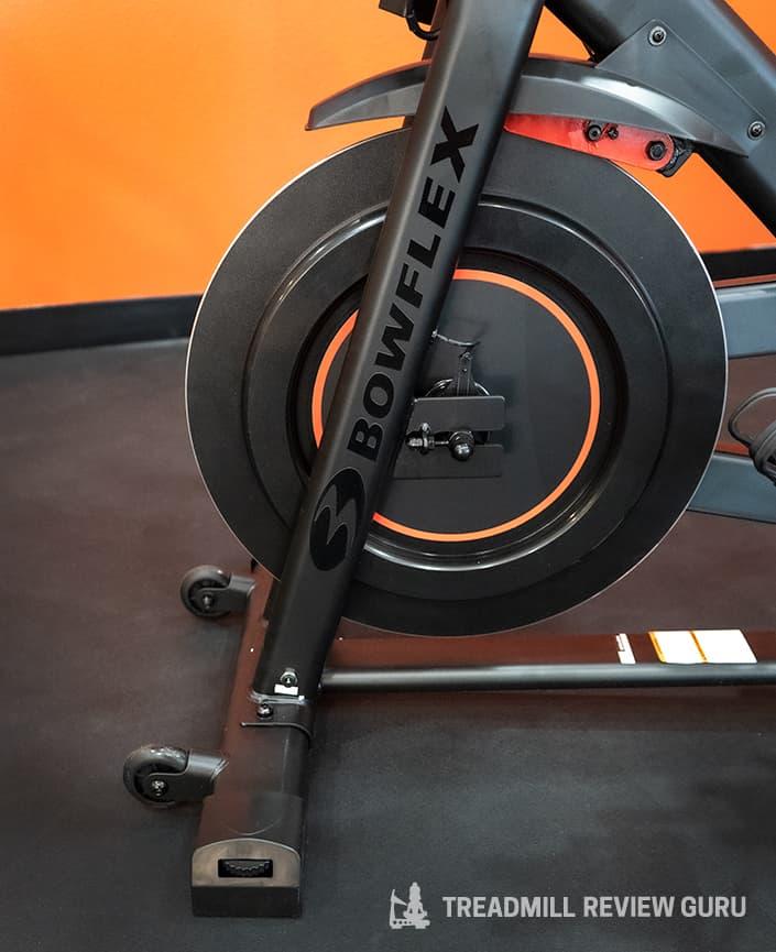 Bowflex C6 Exercise Bike flywheel