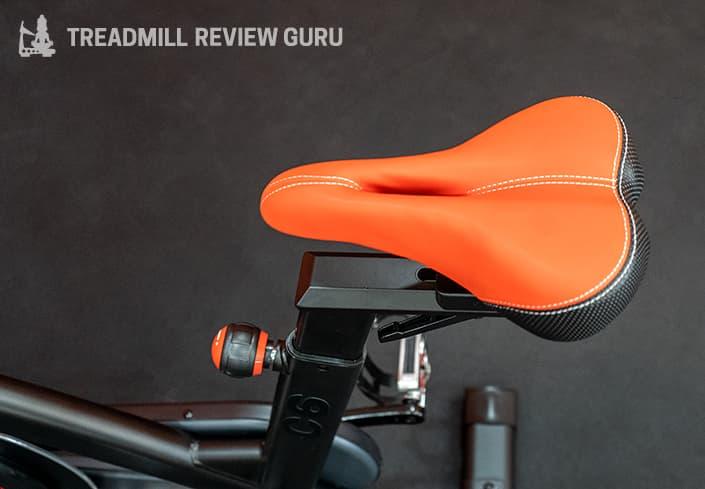 Bowflex C6 Exercise Bike saddle