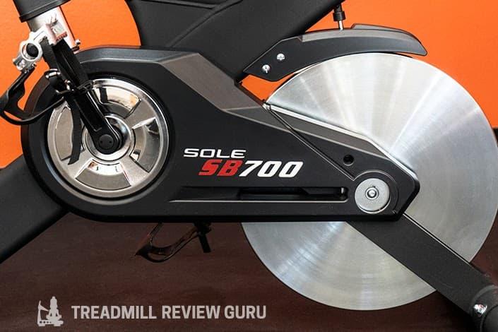 Sole SB700 Exercise bike flywheel