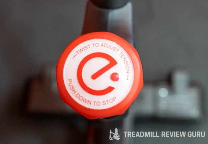 Echelon EX5s Adjustment knob