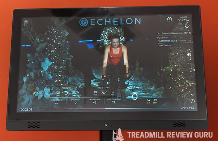Echelon EX5s app