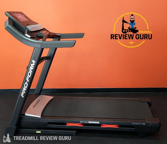 ProForm Carbon T10 Treadmill Review 2021