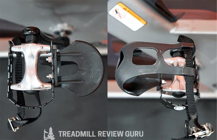 ProForm Pro 22 Bike pedals