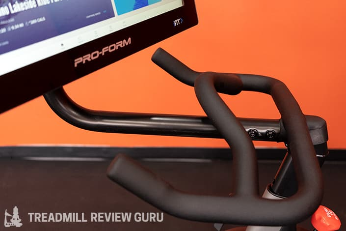 ProForm Pro 22 Bike swivel screen