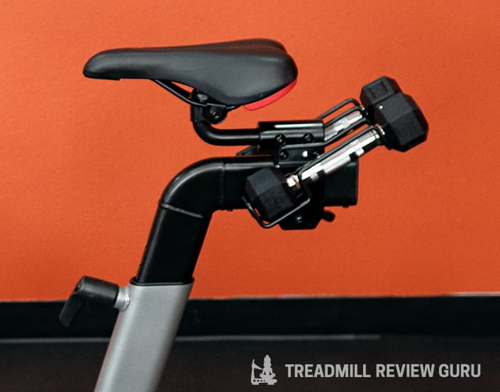 ProForm Pro 22 saddle and weights