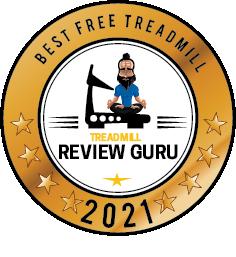 Best Free Treadmill - ProForm Carbon T10 award badge