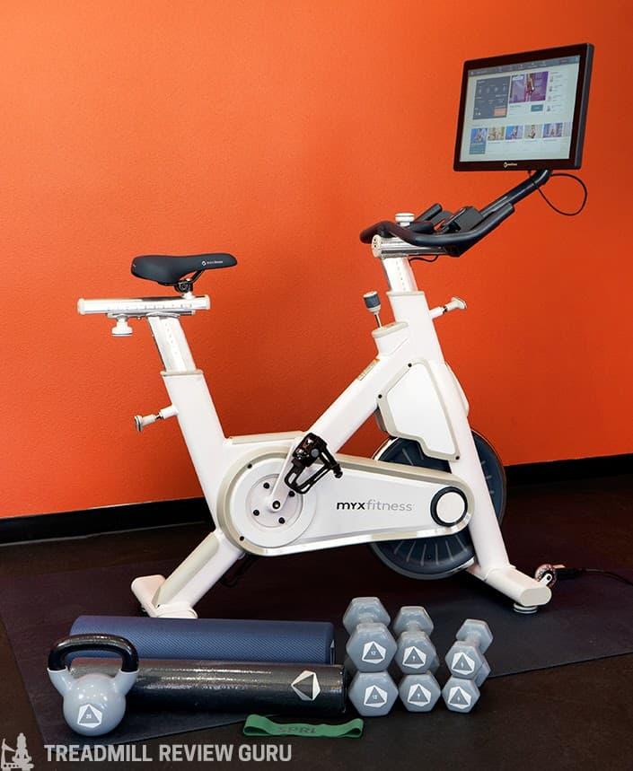 MYX Fitness Bike Plus package