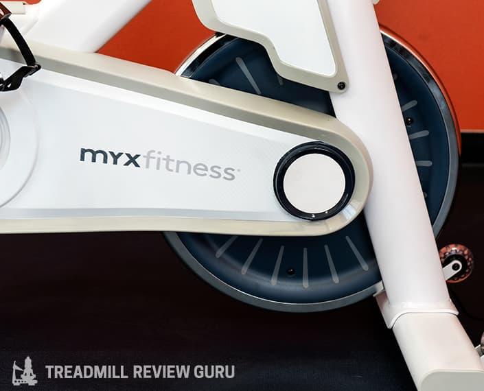 MYX Fitness Bike flywheel