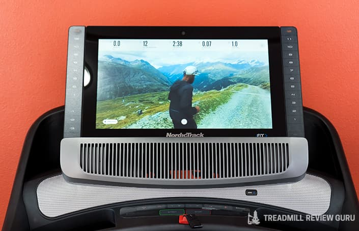 Nordictrack 2950 console and touchscreen