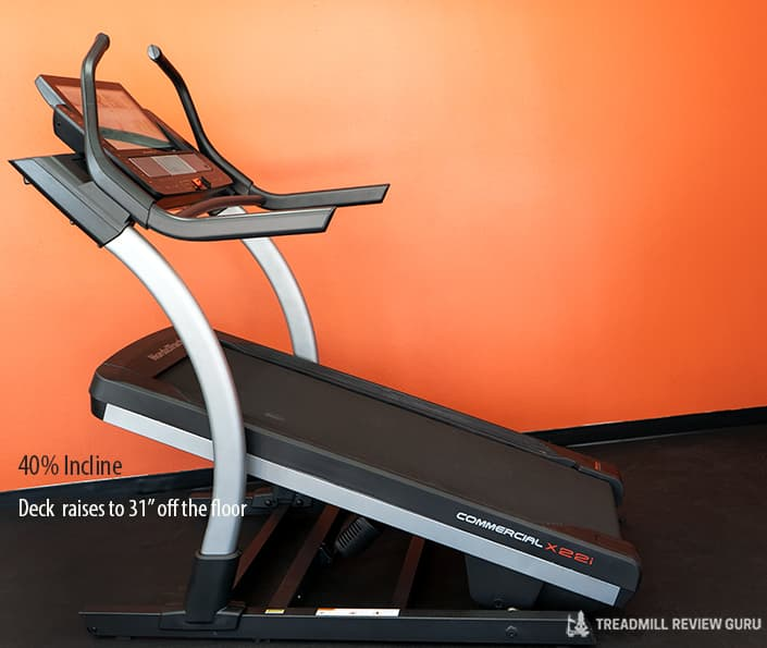 Nordictrack x22i Incline Trainer 40% incline