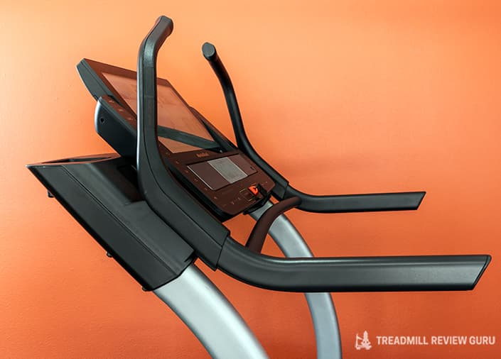 Nordictrack x22i Incline Trainer sled push bars