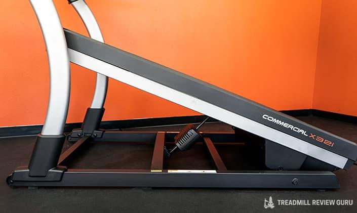 Nordictrack x32i frame