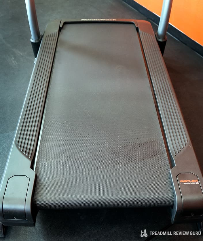 Nordictrack x32i incline trainer 65 inch deck